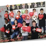 Valentine day's in classe quinta