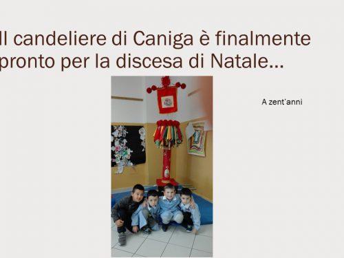 Il candeliere di Natale di Caniga