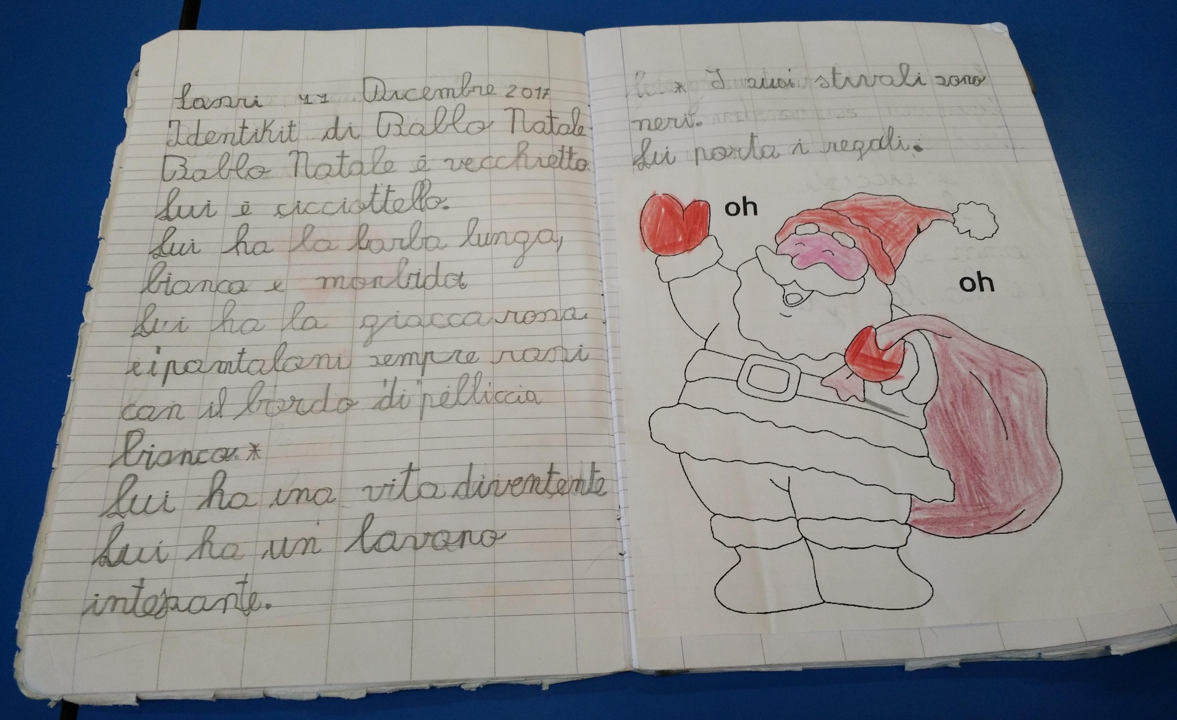 Descrizione Di Babbo Natale Per Bambini.Identikit Della Befana