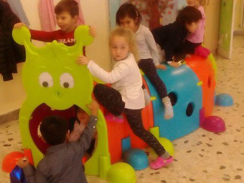 Sorpresa del Lions Club per la sezione C Montessori e  le sez. A-B della scuola dell'infanzia F.de A.!!!!