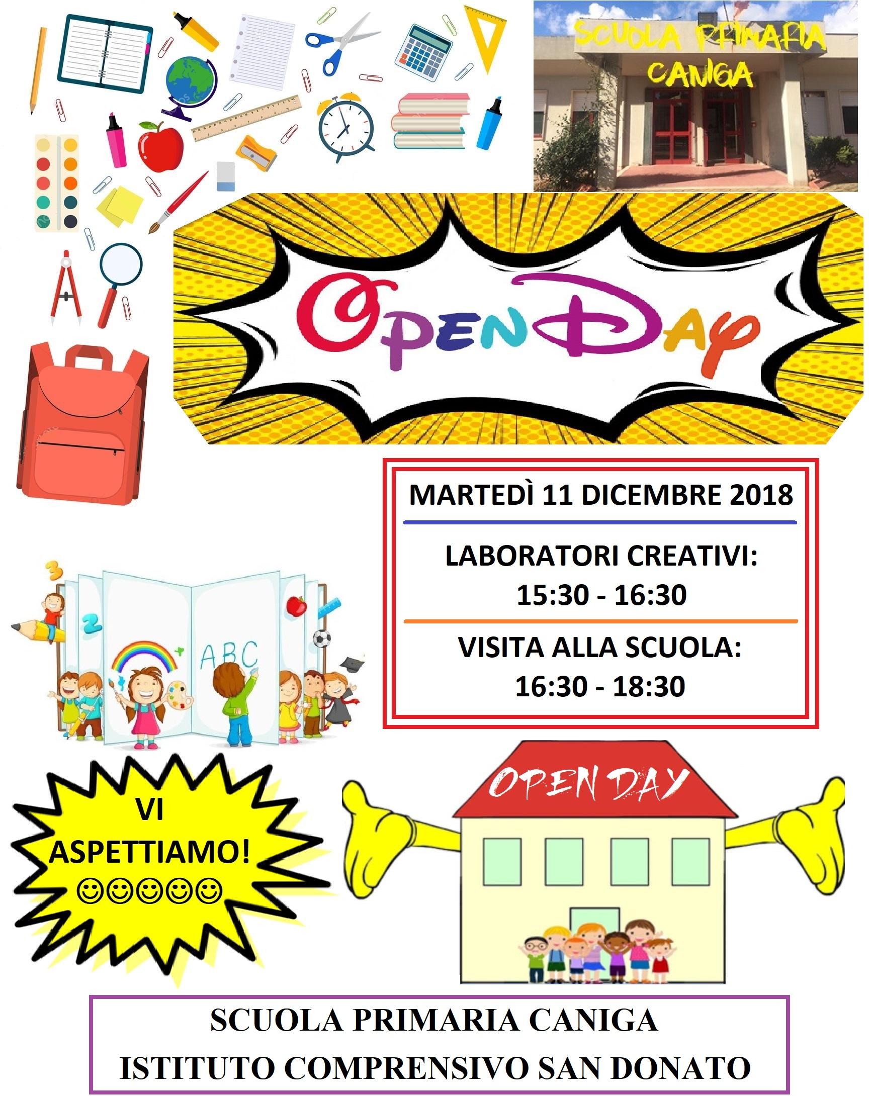 Open Day Nella Scuola Primaria Di Caniga Il Nuovo Pintadera