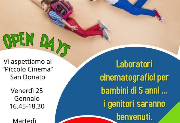 """Scuola Primaria San Donato…vi aspettiamo al """"Piccolo Cinema"""""""