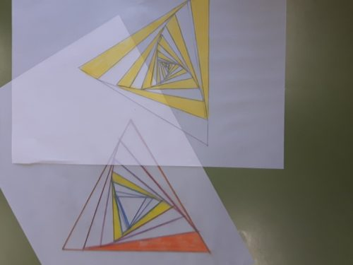 "Triangoli in ""vortice"""