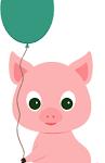 Poldo, il maialino rosa