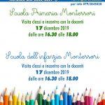 Open Day scuola pubblica Montessori
