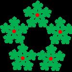 Stelle di Natale o Pentagramma
