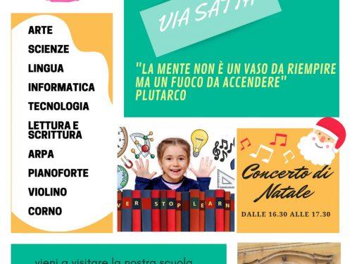 OpenDay – Scuola secondaria 1° grado – Via Satta