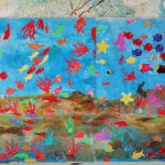La Scuola si fa bella: la scenografia del mare