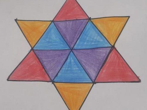 ⁂ Stella a sei punte: quanti triangoli?