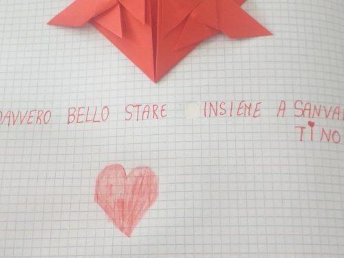 San Valentino 2020. Batte (anche)un cuore ❤di origami