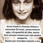 """La """"quarantena"""" di Anna Frank"""