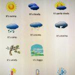 Weather, Days, Months, Seasons!!!! per FDA