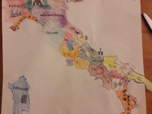 Una proposta integrata di geografia per la classe 4^ SD